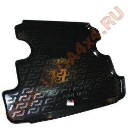 Коврик в багажник НИВА 2131 (термоэластопласт) с 2016 г.в.