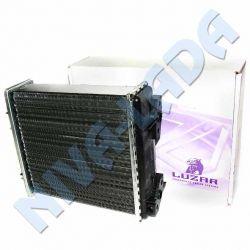 Радиатор отопителя НИВА 21213; 21214; 2131 Luzar LRh 0106 алюминиевый